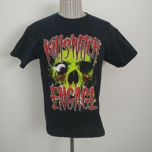 Killswitch Engage Graphic Black T-Shirt, M